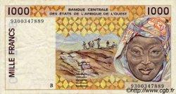 1000 Francs type 1991 BÉNIN  1993 P.211Bd TTB