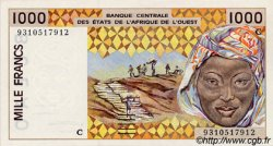 1000 Francs type 1991 BURKINA FASO  1993 P.311Cd pr.NEUF
