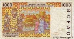 1000 Francs type 1991 ÉTATS DE L