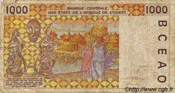 1000 Francs type 1991 BÉNIN  1997 P.211Bh B+