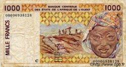 1000 Francs type 1991 BURKINA FASO  2000 P.311Ck TB