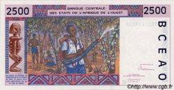 2500 Francs type 1992 BURKINA FASO  1992 P.312Ca pr.NEUF