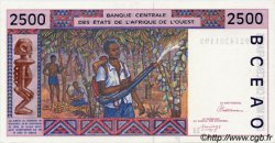 2500 Francs type 1992 NIGER  1992 P.612Ha SPL