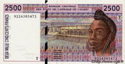2500 Francs type 1992 TOGO  1992 P.812Ta SUP à SPL