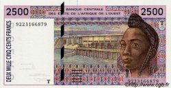 2500 Francs type 1992 TOGO  1992 P.812Ta pr.NEUF
