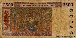 2500 Francs type 1992 MALI  1994 P.412Dc B