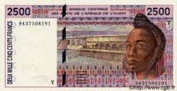 2500 Francs type 1992 TOGO  1994 P.812Tc pr.NEUF