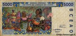 5000 Francs type 1992 COTE D
