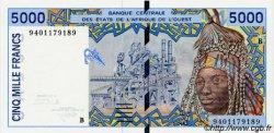 5000 Francs type 1992 BÉNIN  1994 P.213Bc NEUF