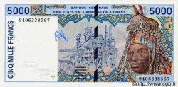 5000 Francs type 1992 TOGO  1994 P.813Tc pr.NEUF