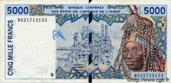 5000 Francs type 1992 ÉTATS DE L