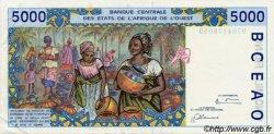 5000 Francs type 1992 BÉNIN  1997 P.213Bf SUP