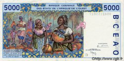 5000 Francs type 1992 BURKINA FASO  1999 P.313Ci pr.SUP