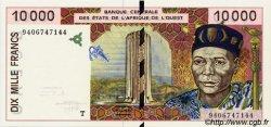 10000 Francs type 1992 ÉTATS DE L