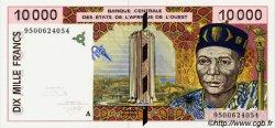 10000 Francs type 1992 COTE D