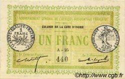 1 Franc COTE D