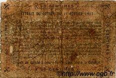 0,50 Franc DAHOMEY  1917 P.01b AB