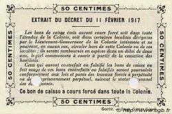 0,50 Franc GUINÉE  1917 P.01b pr.NEUF