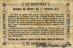 0,50 Franc GUINÉE  1917 P.01c TB+