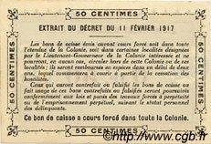 0,50 Franc SÉNÉGAL  1917 P.01x pr.NEUF