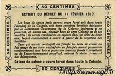 0,50 Franc SÉNÉGAL  1917 P.01c SUP+