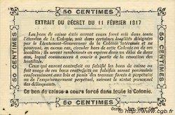 0,50 Franc SÉNÉGAL  1917 P.01b pr.NEUF