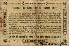 0,50 Franc SÉNÉGAL  1917 P.01b TB