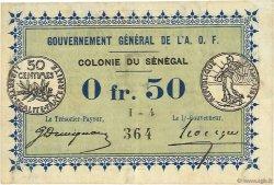 0,50 Franc SÉNÉGAL  1917 P.01b TTB