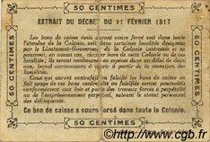 0,50 Franc SÉNÉGAL  1917 P.01c pr.TB