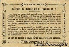 0,50 Franc SÉNÉGAL  1917 P.01c