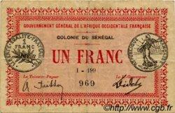 1 Franc SÉNÉGAL  1917 P.02c TB+