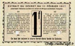 1 Franc SÉNÉGAL  1917 P.02b SPL