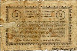 2 Francs SÉNÉGAL  1917 P.03c AB