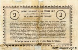 2 Francs SÉNÉGAL  1917 P.03b AB