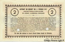2 Francs SÉNÉGAL  1917 P.03b pr.NEUF