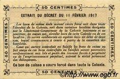 0,50 Franc SOUDAN  1917 P.A1b pr.NEUF