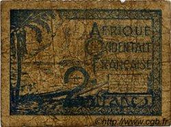 2 Francs AFRIQUE OCCIDENTALE FRANÇAISE (1895-1958)  1944 P.35 B