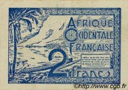 2 Francs AFRIQUE OCCIDENTALE FRANÇAISE (1895-1958)  1944 P.35 pr.SUP