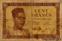 100 Francs MALI  1960 P.02 B