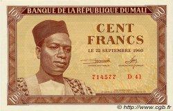 100 Francs MALI  1960 P.02 NEUF