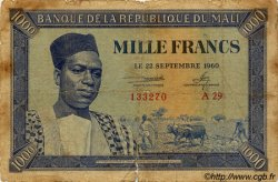 1000 Francs MALI  1960 P.04 AB