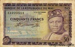 50 Francs MALI  1960 P.06 pr.TB