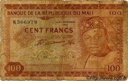 100 Francs MALI  1960 P.07a AB