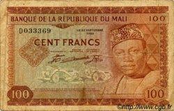 100 Francs MALI  1960 P.07a B