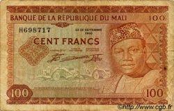 100 Francs MALI  1960 P.07a TB