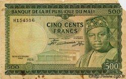 500 Francs MALI  1960 P.08 B