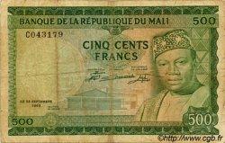 500 Francs MALI  1960 P.08 pr.TB