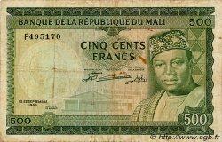 500 Francs MALI  1960 P.08 TB+