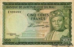 500 Francs MALI  1960 P.08 TTB