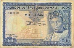 1000 Francs MALI  1960 P.09 TB